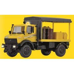 Kibri 10770 - H0 UNIMOG lubricate vehicle GleisBau with