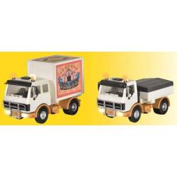 Kibri 11004 - H0 Truck for funfair trailers, with front-, rear-