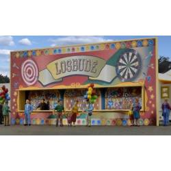 Kibri 11012 - H0 Funfair trailer with LED lighting,