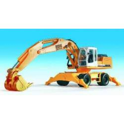 Kibri 11261 - H0 LIEBHERR 934 Litronic with wheel running gear