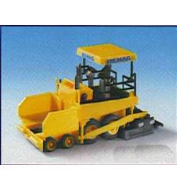 Kibri 11652 - H0 DEMAG road surfacer