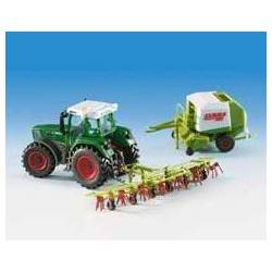Kibri 12233 - H0 FENDT tractor with accessory equipment
