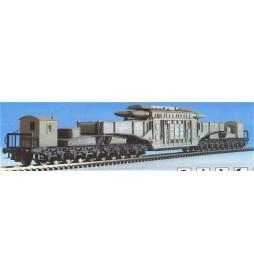 Kibri 16500 - H0 MAN Uaai 687.9 wagon niskopodłogowy z ładunkiem transformatora