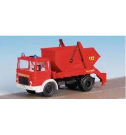 Kibri 18201 - H0 Fire brigade MAN 2-axle skip loader