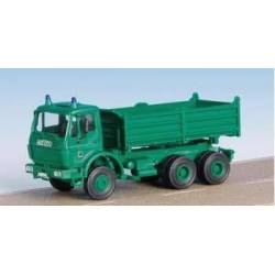 Kibri 18247 - H0 Police MB 3-axle tipper ***discontinued item***