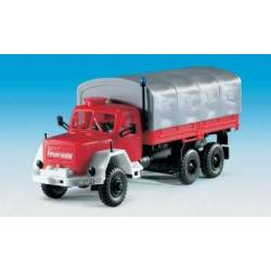 Kibri 18264 - H0 Fire brigade MAGIRUS Jupiter with platform and