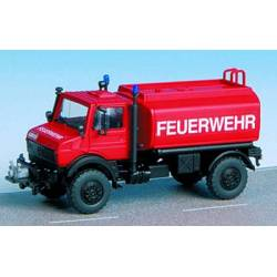 Kibri 18272 - H0 Fire brigade UNIMOG with watertank