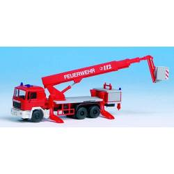 Kibri 18273 - H0 Fire brigade MAN with RUTHMANN STEIGER