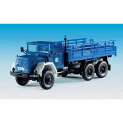 Kibri 18464 - H0 THW MAGIRUS with folding canopy