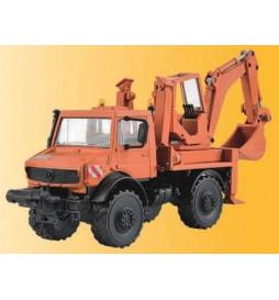 Kibri 18480 - H0 UNIMOG with excavator