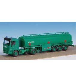 Kibri 18801 - H0 Police MB ACTROS tanker ***discontinued item***