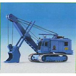 Kibri 19100 - H0 MENCK excavator with high bucket