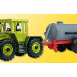 Kibri 22234 - H0 MB TRAC with slurry trailer, finished model