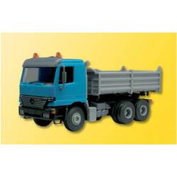 Kibri 24070 - H0 MB ACTROS dump truck, Finished model