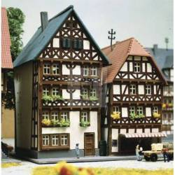 Kibri 36404 - Z Half-timbered houses Fritzlar, 2 pieces
