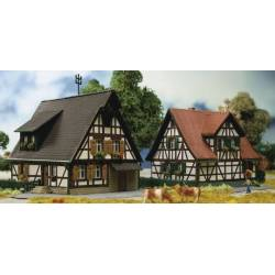 Kibri 36406 - Z Half-timbered houses, 2 pieces