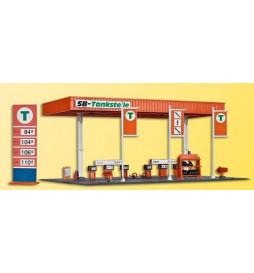 Kibri 38705 - H0 Stacja benzynowa samoobsługowa