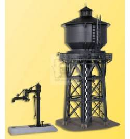 Kibri 39328 - H0 Water tower with water crane