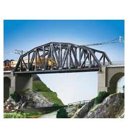 Kibri 39700 - H0 Stalowy most łukowy jednotorowy