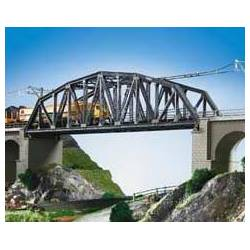 Kibri 39700 - H0 Steel arch bridge, single track
