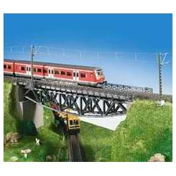 Kibri 39703 - H0 Fish belly beam bridge, single track