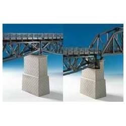Kibri 39752 - H0 Universal brick-built bridge centre pillar,