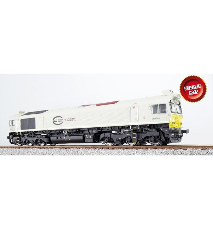 Lokomotywa spalinowa Class 77, ECR 247 026, jasnoszara, DC/AC (ESU 31076)