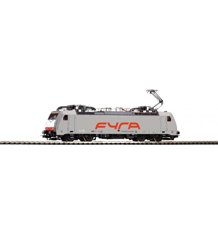 Elektrow. BR 186 FYRA grau VI, 4 Pantos - Piko 59960