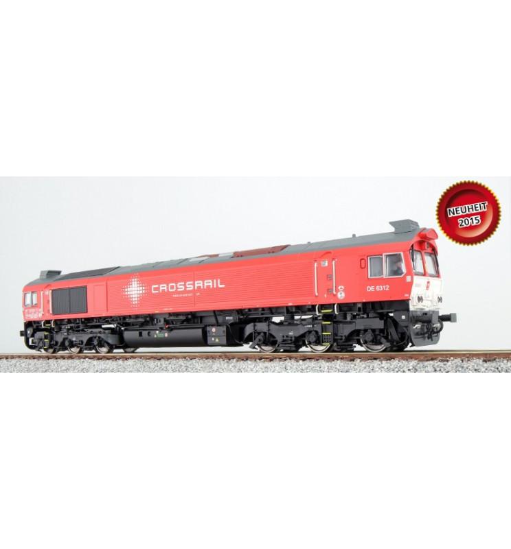 Lokomotywa spalinowa Class 77, Crossrail DE 6312, czerwona, DC/AC (ESU 31077)