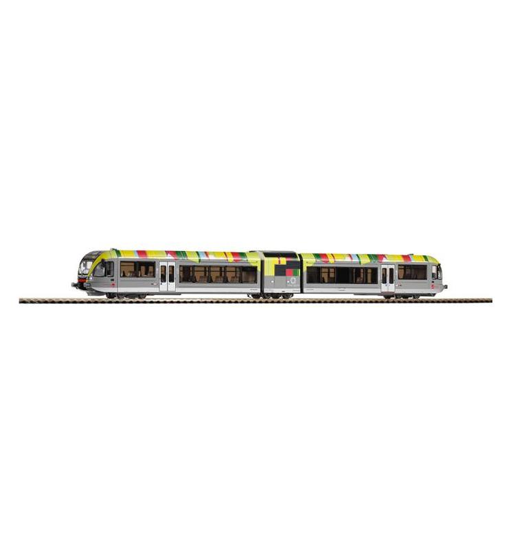 ~Spal.zesp.trak. Stadler GTW 2/6 Vinschgau Bahn VI + lastg. Dec. - Piko 97711