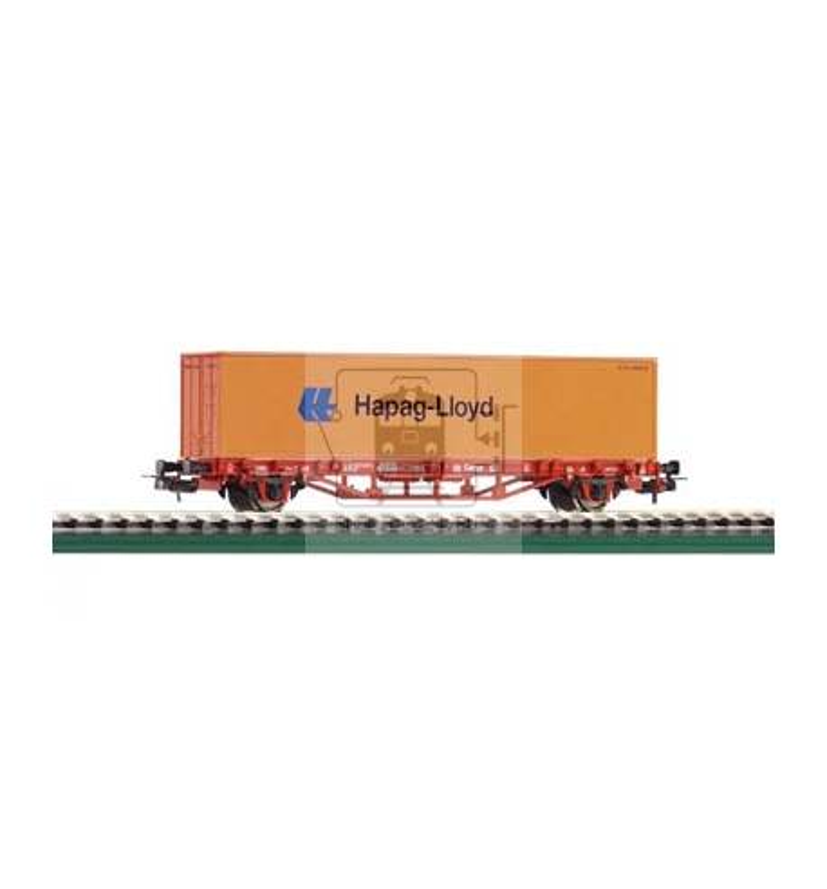 Wagon Towarowy Platf. z konten. Hapag Lloyd DB-Cargo V - Piko 57700