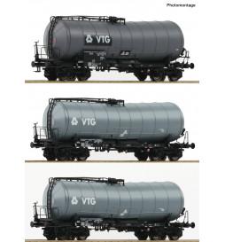 Roco 76126 - Zestaw 3 cystern VTG