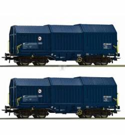 Roco 76446 - Zestaw 2 wagonów teleskopowych ZSSK
