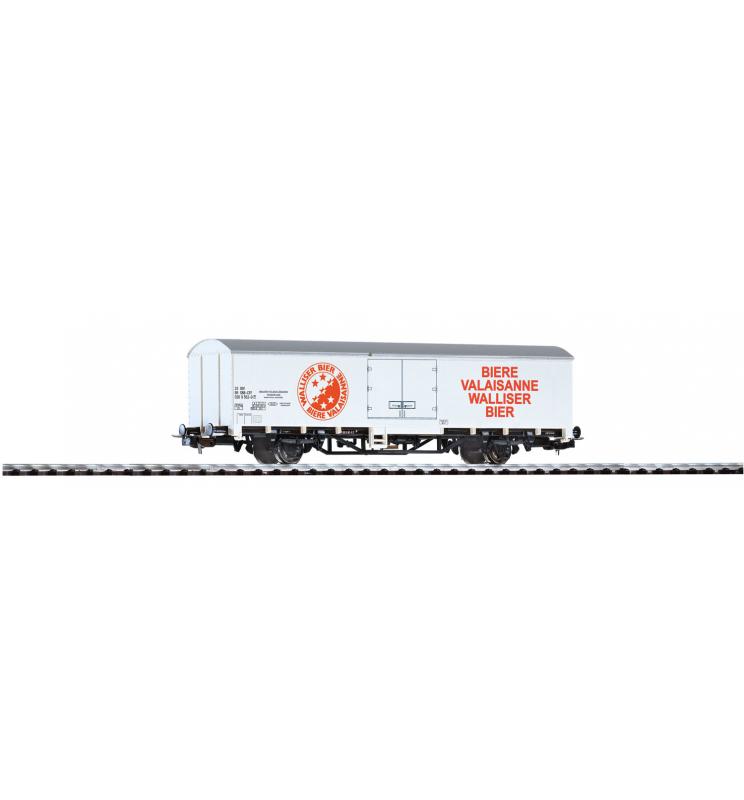 "Wagon Towarowy Kryty ""Walliser"" SBB IV - Piko 57789"