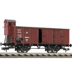 """Fleischmann 536601 - Gedeckter Güterwagen Bauart G 02 """"Stettin"""", K.P.E.V."""
