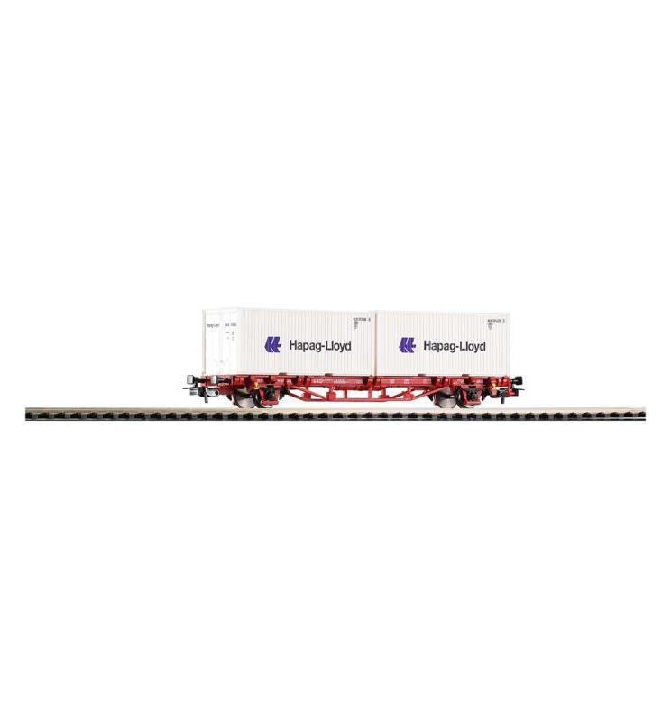 "Wagon Towarowy Platf.z kontenerowy Lgs579 ""Hapag Lloyd"" DB AG VI 2x20"" - Piko 57795"