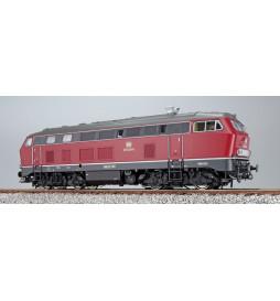 Lokomotywa spalinowa BR218 235, ciemnoczerwona, AC (ESU 32025)