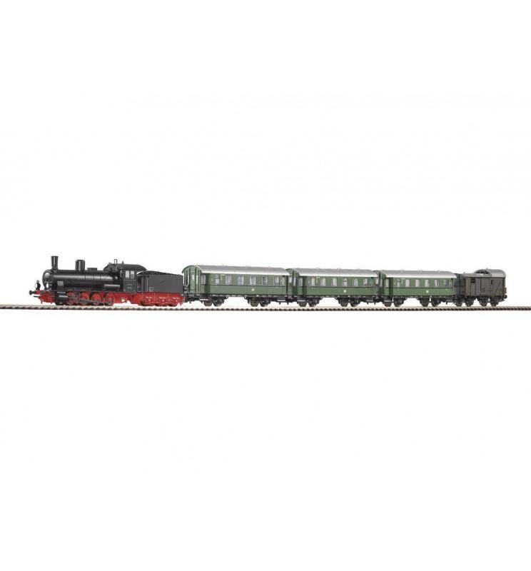 Piko 57121 Zestaw Startowy Osobowy Parowóz G7.1 + 4 Wagony