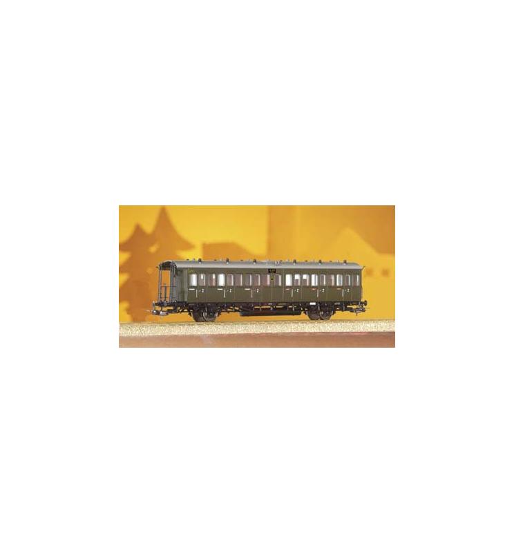 Wagon Sachsenwg. DRG II 2.Kl. Bsa13 - Piko 53140