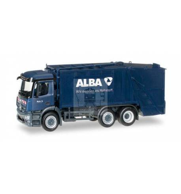 Herpa LKW MB Antos S Pressmüllwagen ALBA 306966