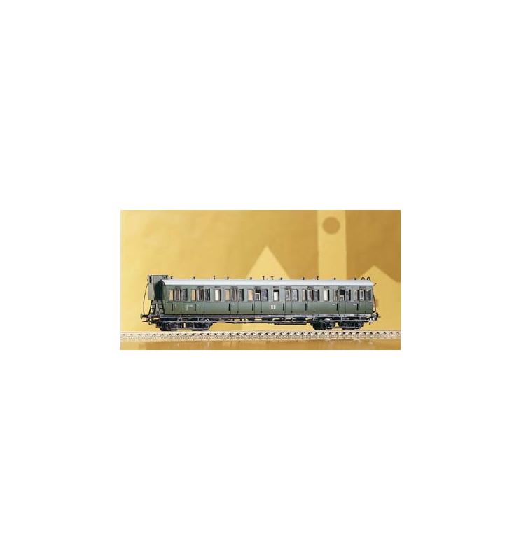 Wagon przedziałowy 2.Kl. B4p DR III m.Bh. - Piko 53212