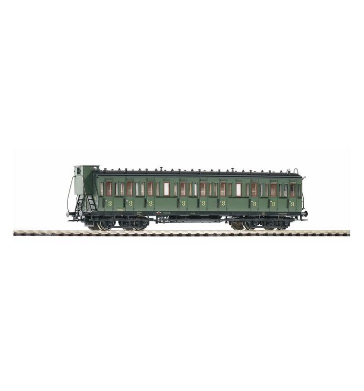 Wagon Osobowy Przedział. 3.Kl. SNCB III m.Bh. - Piko 53314