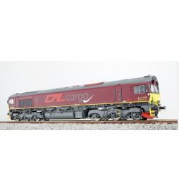 Lokomotywa spalinowa Class 66 CFL 714, DC/AC (ESU 31070)