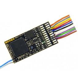Dekoder jazdy i dźwięku MX645 (3W) DCC 11-kabli