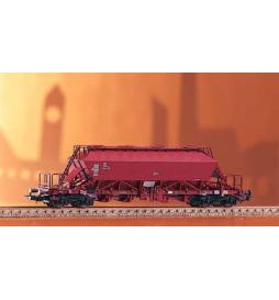 Wagon Towarowy Wapniarka, Uaoos 9331 DR IV, 4 Dome - Piko 54310