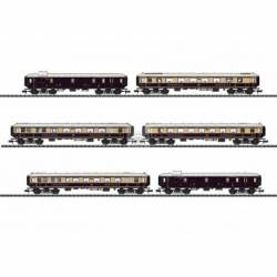 Trix 15539 - Rheingold Express Train Passenger Car Set