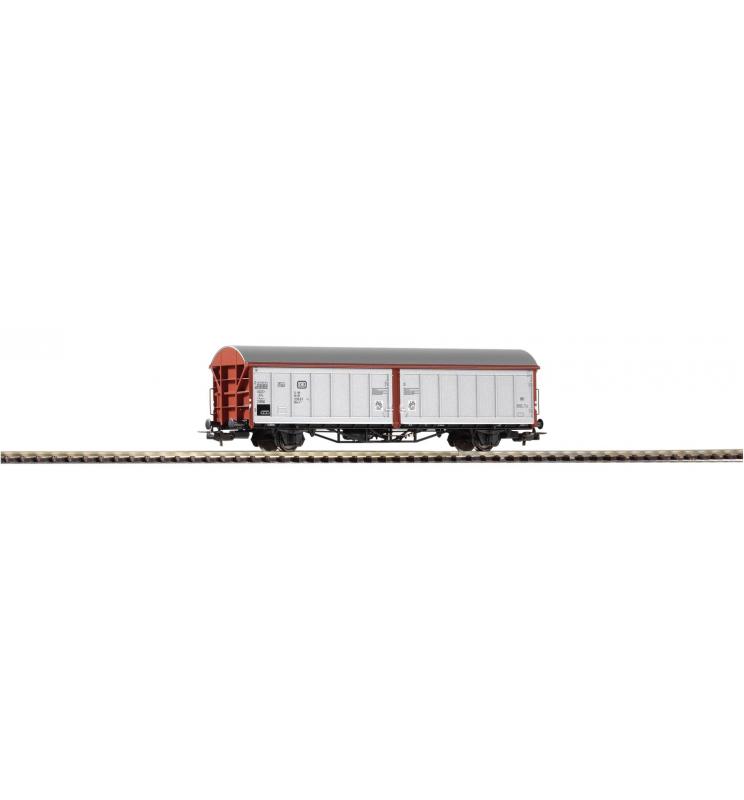 Wagon Towarowy ze ścian.przesuw. Hbis294 DB IV silber - Piko 54416