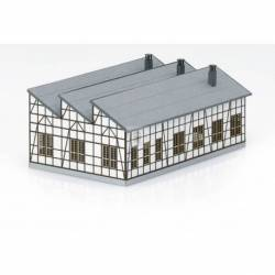 Trix 66326 - Rottweil Locomotive Shed Building Kit