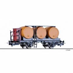 "Tillig H0 76733 - Wine barrel car ""Weinwagen Metzger Berlin"" of the KWStB, Ep. I"