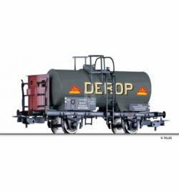 """Tillig H0 76736 - Tank car """"DEROP Deutsche Vertriebsgesellschaft für Russische Öl- Produkte Berlin"""" of the DRG, Ep. II"""